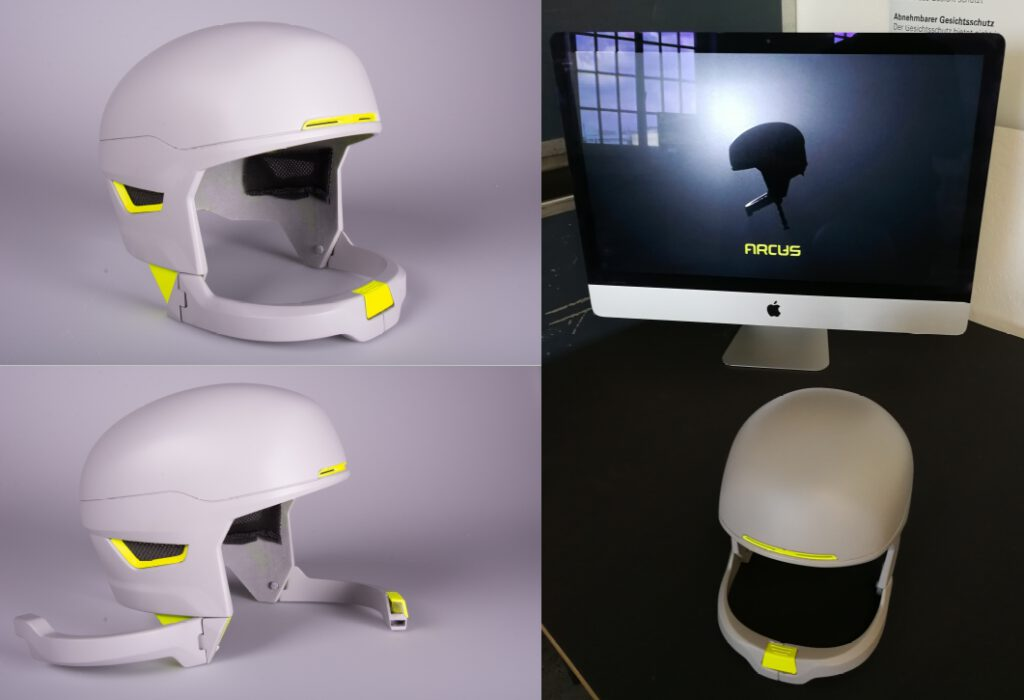 Design Prototyp aus dem 3D-Druck